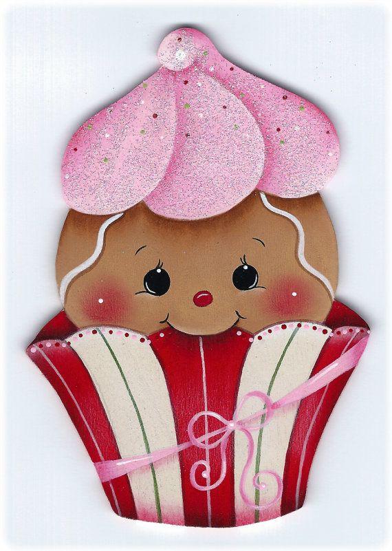Cutie Cake Gingerbread Painting E-Pattern von GingerbreadCuties
