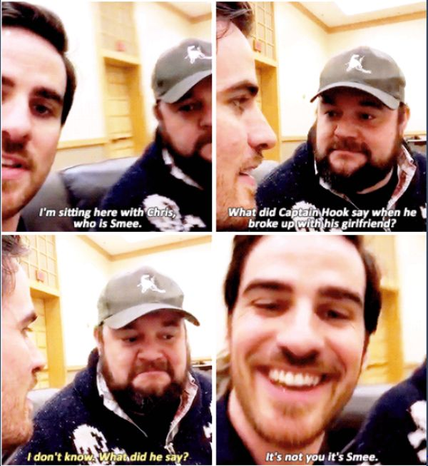Colin O'Donoghue and Chris Gauthier