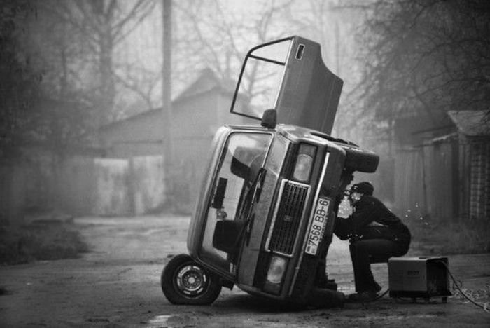 The is how you fix a Lada