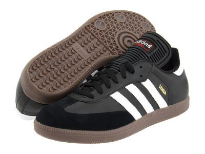 adidas - Samba Classic (Black/White) Men's Soccer Shoes