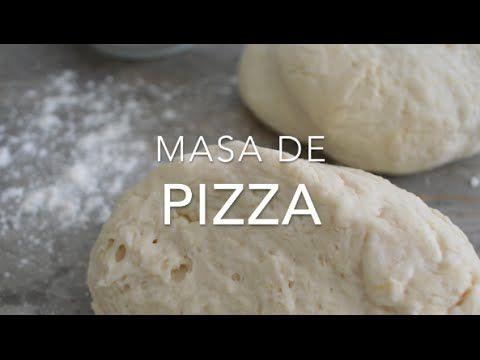 Cómo hacer masa de pizza casera (paso a paso y fácil)
