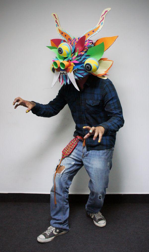 Máscara inspirada en la Diablada de Puno by Jon Lozano