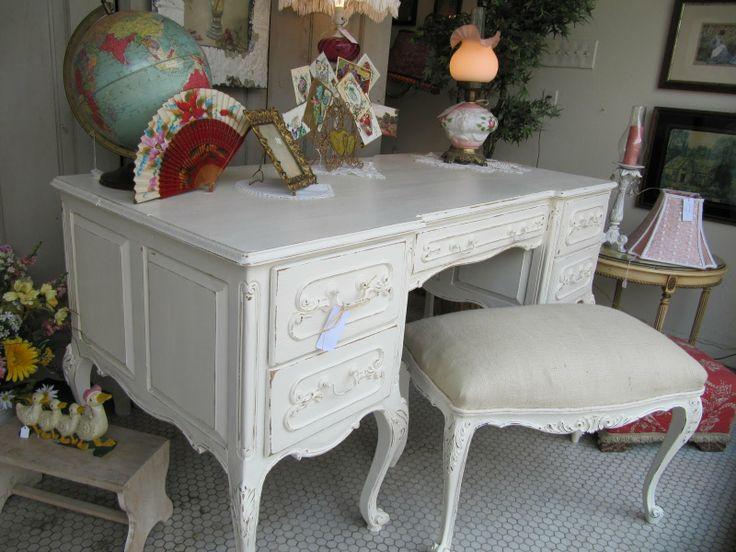 Shabby Chic Desk | Love This French Shabby Chic Desk .