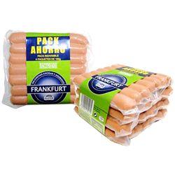 Hacendado salchicha frankfurt 3 pp / 2 unidades