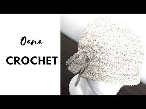 Cloche anni 20 all'uncinetto by Oana - YouTube