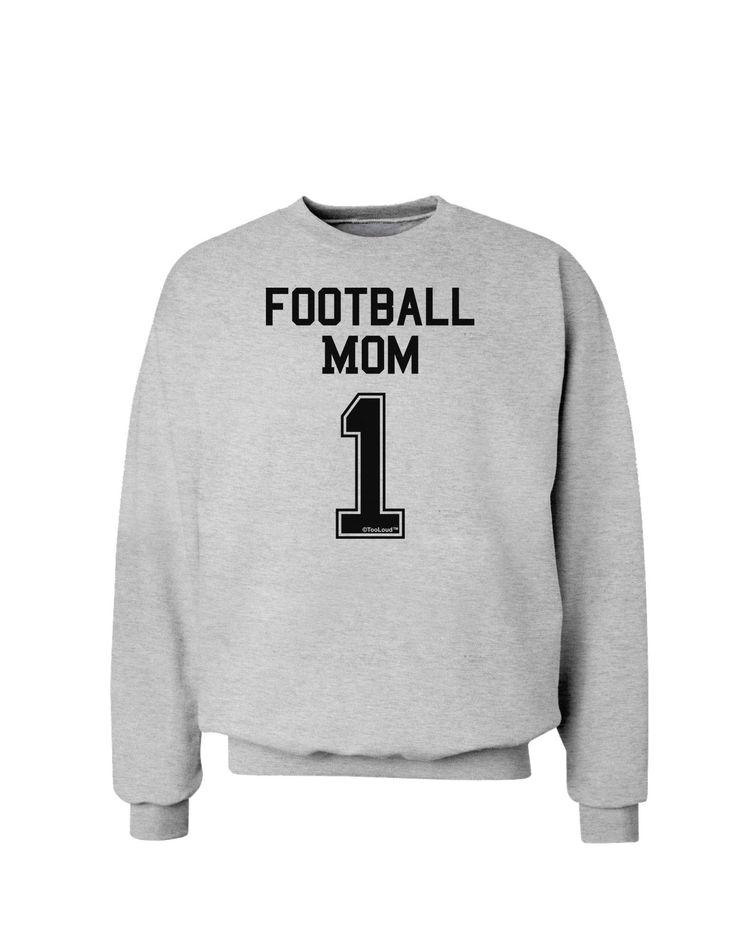 Football Mom Jersey Sweatshirt