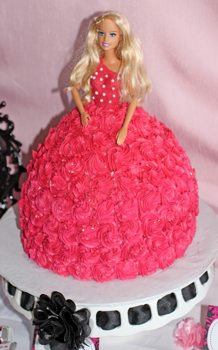 17 Best Images About Barbie Birthday Cakes On