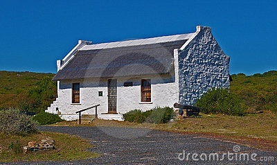 old cape dutch fishing cottage