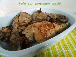 Pollo con pomodori secchi, secondo piatto