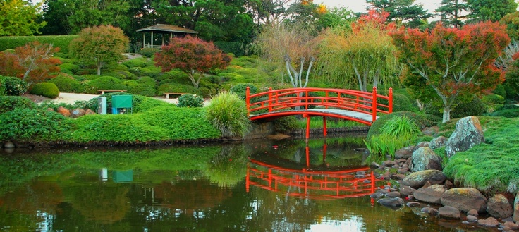 Japanese gardens in Toowoomba