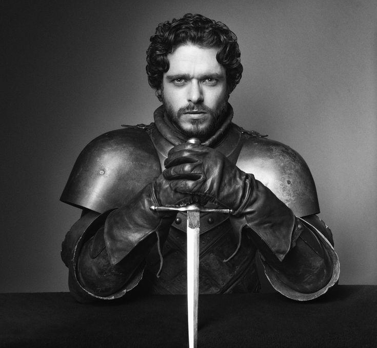 Cast de Game Of Thrones en su Tercera Temporada, sesión para la revista TV-Guide. Richard Madden