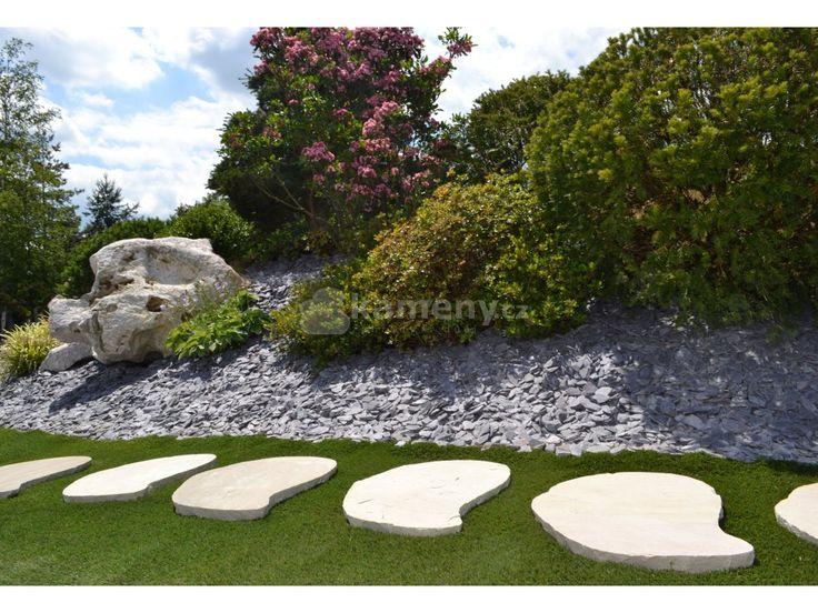 Kamenné nášlapy Sandy jsou vyrobeny z přírodního pískovce Nášlapy neboli šlapáky…