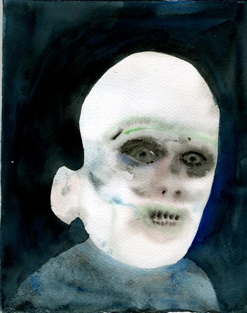 Justin Lee Williams: Faces Based, 2D Art, Lee Williams, Watercolor Portraits, Dark Things, Art Ist Ri, Justin Lee, Memories, Art Illustrations Design