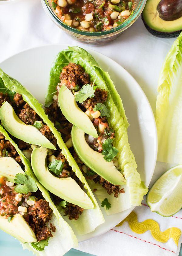 Heat-Free Lentil & Walnut Tacos