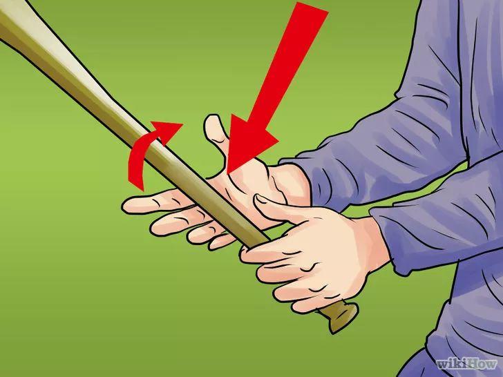 Aprende a batear en el beisbol vía es.wikihow.com