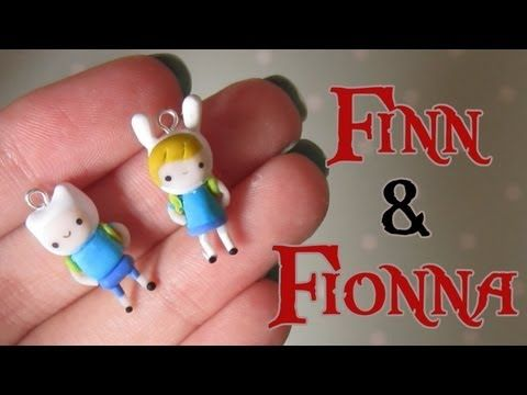 ▶ Finn & Fionna Tutorial From Adventure Time! Polymer Clay. - YouTube