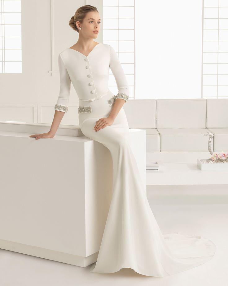 DORIAN vestido de novia Rosa Clará 2016