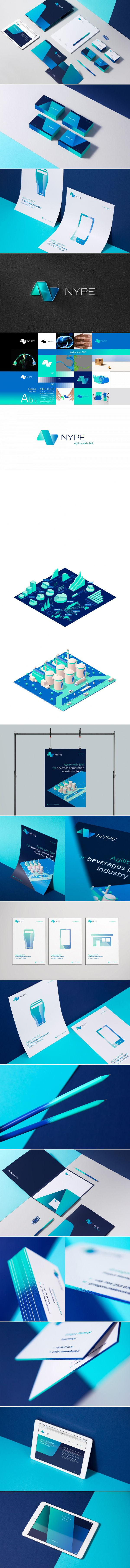 Nype Brand Design www.kommunikat.pl/portfolio/nype/