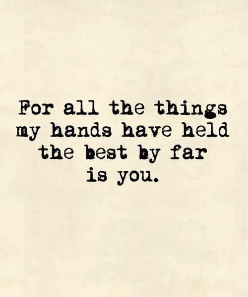 The Best By Far - Beautiful Love Quote: