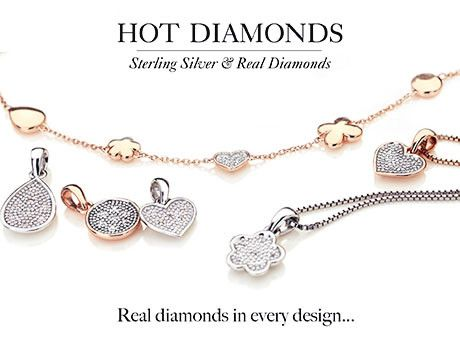 Marilyn Monroe once sang 'diamonds are a girl's best friend' and there's no denying the statement still rings true today. Indulge your inner magpie with our glistening Hot Diamonds collection, with every piece sure to dazzle. Want to buy as a gift and need more inspiration? The Secret's wishlist will lend a helping hand.