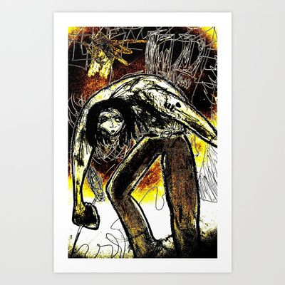 Rocker II Art Print by Shane R. Murphy - $19.00
