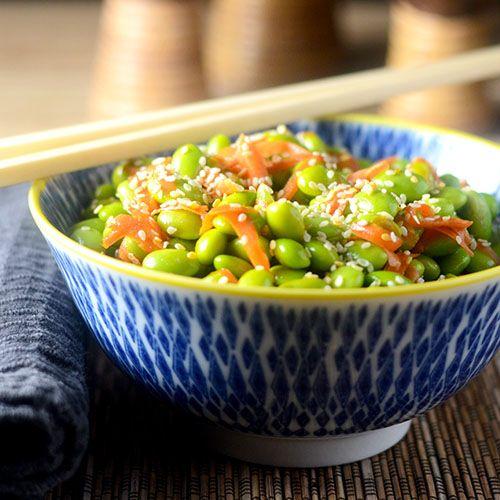 Edamame salad, Edamame and Salads on Pinterest