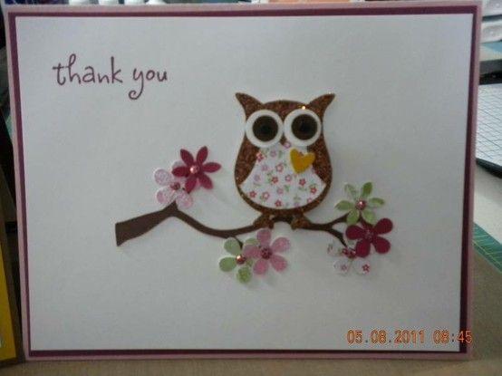owl card card-ideas
