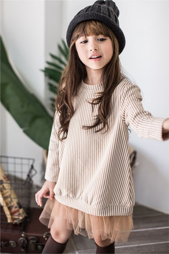 Micca striped dress. Korean fashion. www.lublue.co.uk Women, Men and Kids Outfit Ideas on our website at 7ootd.com #ootd #7ootd