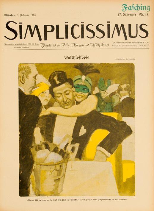 Dudovich - SImplicissimus, copertina