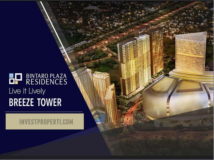 Bintaro Plaza Residence Breeze Tower.