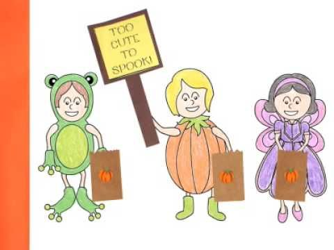 The Halloween Song Book - Classroom Book Project - YouTube.  Fun song to sing, too!  You can get the song on iTunes.