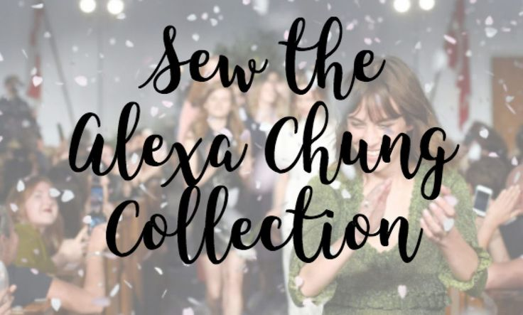 Sew the Alexa Chung Collection | Dominique Major Inspired by the new Alexa Chung fashion collection. Here are my favourite picks and how you can sew them yourself.
