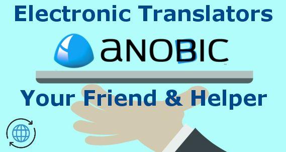 Electronic voice translator Anobic