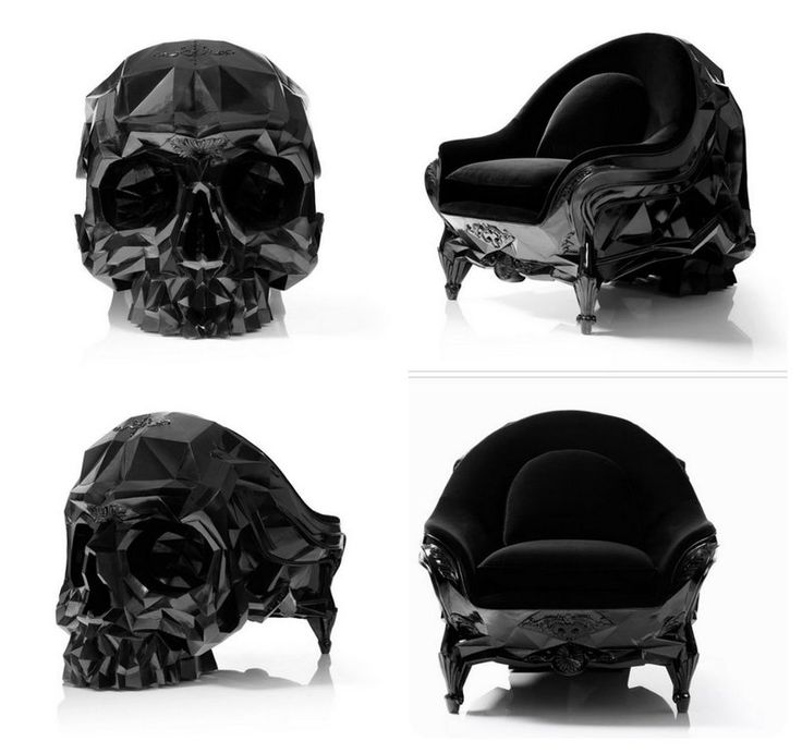 15 Badass Skull Chairs of all time - like a boss