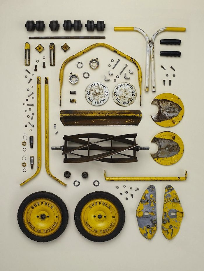 bigmagnets:    Todd McLellan — Disassembly    Ed Ed    Lawnmower. I think...