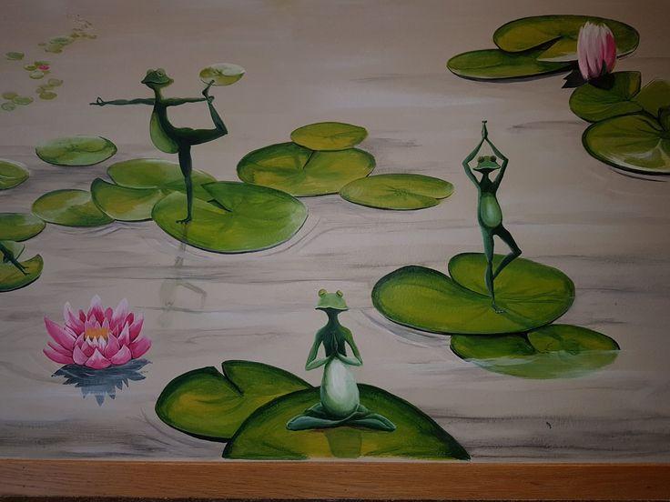 #yoga#frog#frogs#lothus#waterlily#zen#theresewalland