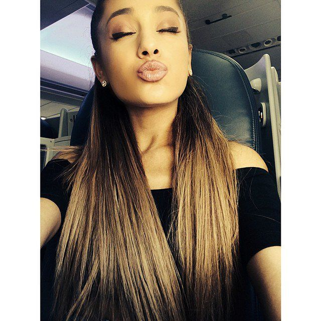 Pin for Later: Celebrity Candids You Don't Want to Miss This Week  Ariana Grande made a pretty pout for the camera. Source: Instagram user arianagrande