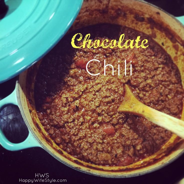 Chocolate Chili by Melissa Joulwan is one of my favorite Whole30 meals!