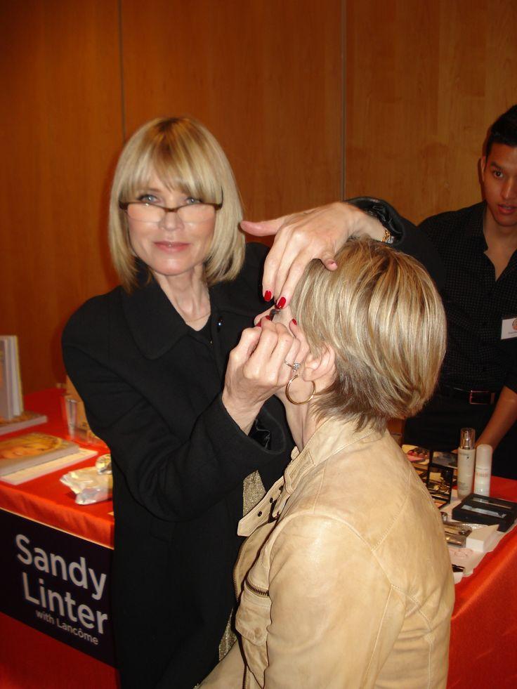 Sandy Linter Lancome