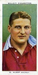 1939-40 W.D. & H.O. Wills Association Footballers #3 Gilbert Alsop Front