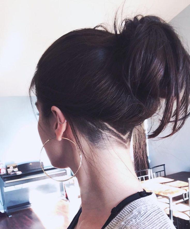neue Frisur für den Sommer! {#undercut #undercutgirls #undercutdesign #piercing ... - #diy frisuren