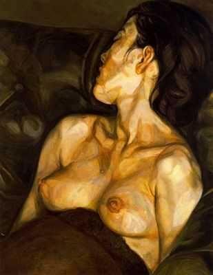 Femme enceinte, par Lucian Freud