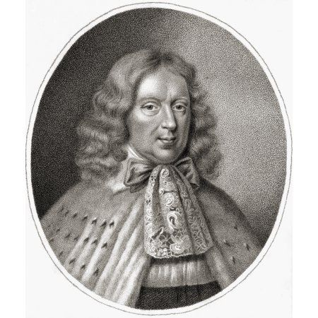 George Berkeley 1St Earl Of Berkeley C16261698 English Politician Engraved By Bocquet From The Book A Catalogue Of Royal And Noble Authors Volume Iii Published 1806 Canvas Art - Ken Welsh Design Pics