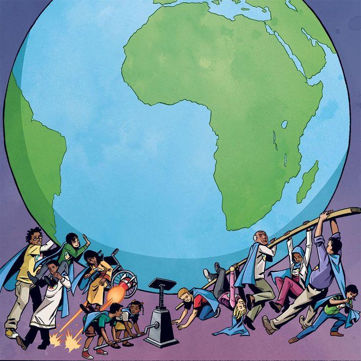 Read the Global Goals comic book