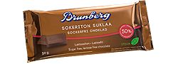 Sokeriton suklaa, Brunberg