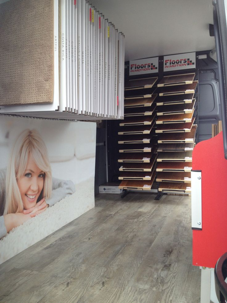 Step inside the Floors In Motion mobile showroom! Give us a call and we will bring it to YOUR driveway!   Visit our website: www.floorsinmotion.com to learn more about us. 'Like' our page: www.facebook.com/floorsinmotion to keep informed on special offers and promotions.