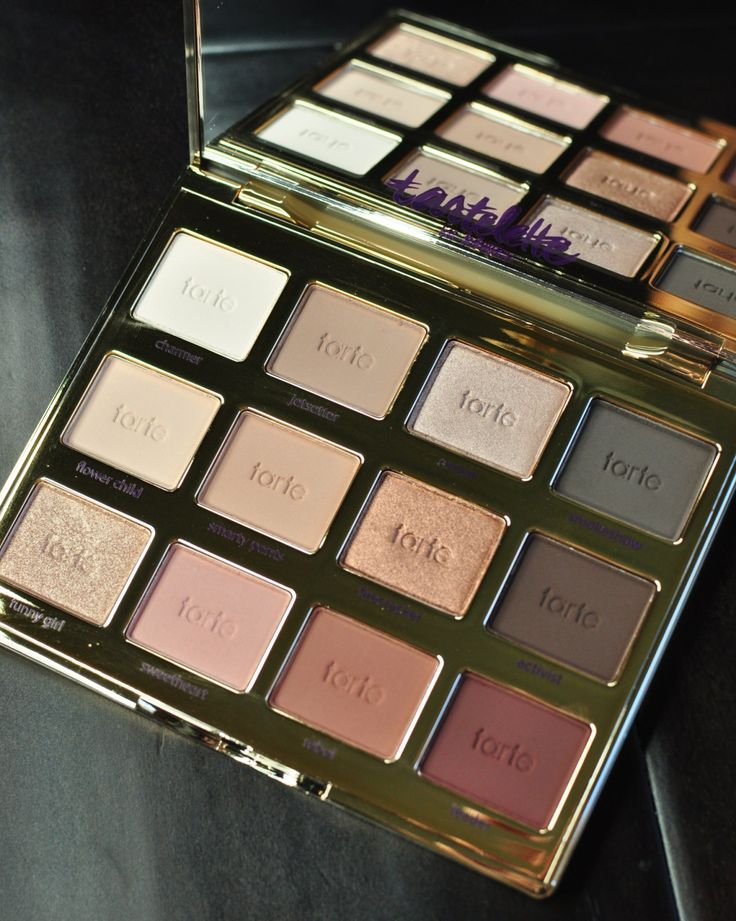 Review and swatches of the Tarte Tartelette In Bloom eyeshadow palette.