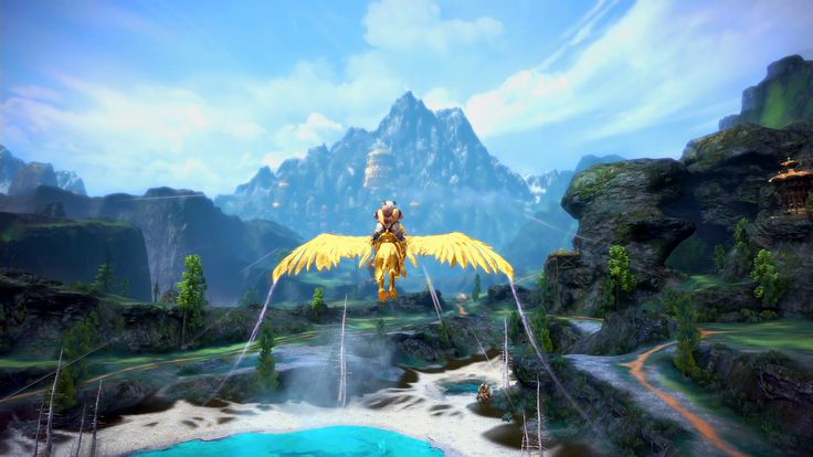 Flying Mounts | Gameplay | Game Guide | TERA