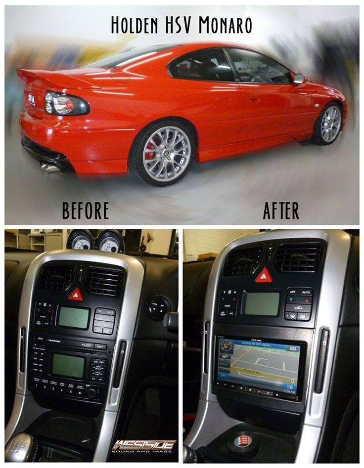 This Holden HSV Monaro got a car audio face lift!
