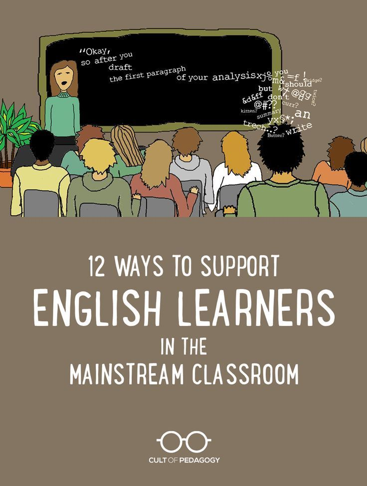 Advice from three ESL teachers on the things regular classroom teachers can do to help English language learners thrive in mainstream classrooms. | Cult of Pedagogy
